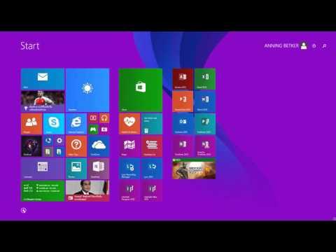 วิธีเพิ่ม ICon โปรแกรมต่างๆ บน Desktop Windows 8.1 - YouTube