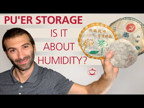 Pu'er Dry and Wet Storage: Is It Really About Humidity?