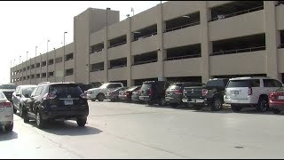Hourly parking moves to temporary location at airport