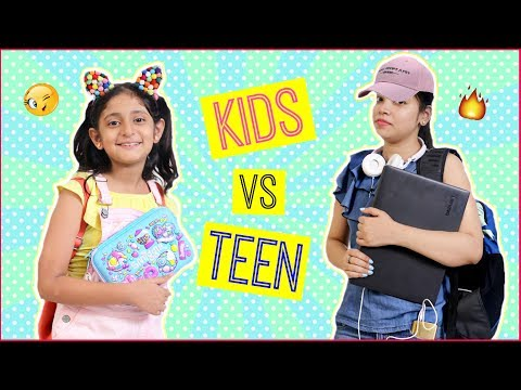 Kids vs Teenagers ... | #Roleplay #MoralValues #Fun #Sketch #Anaysa #MyMissAnand