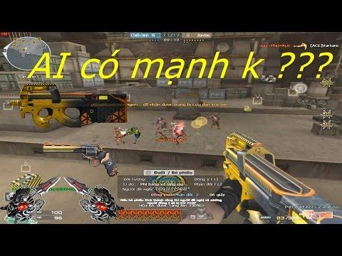 [ Bình Luận CF ] P90-WildShot-Fatal Wasp - Tiền Zombie v4