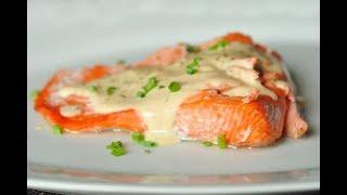Самый вкусный и очень простой рецепт лосося в духовке
