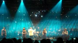 All Angels sing Adiemus with a choir of 3,000 in Dublin