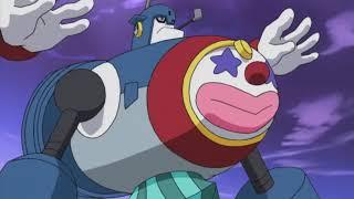 Rockman Beast + Netto vs Diveman y Circusman