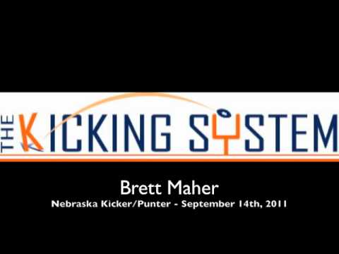 Brett Maher, University of Nebraska Kicker, Interview
