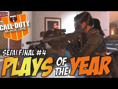 THE LAST CHANCE - Call of Duty Black Ops 4 PLAYS OF THE YEAR Semi Final #4