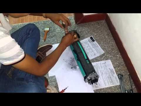 How to clean Drum copy machine Gestetner part 1
