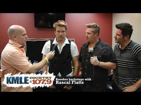 Rascal Flatts - Backstage Interview