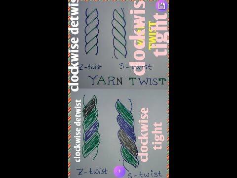 Yarn Twist In Spinning Ll S Twist And Z Twist Ll Textile
