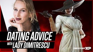 Lady Dimitrescu Answers Dating Advice Questions with Maggie Robertson of Resident Evil 8 Village