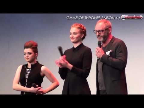Avant-première Game of Thrones Saison 4 à Paris
