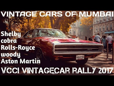 Vcci Vintage car rally 2017 South mumbai ft Bombay Photowalkers