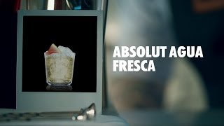 Absolut Agua Fresca Drink Recipe - How To Mix