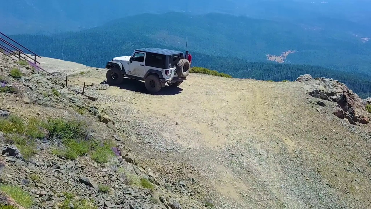 Jeep Kansas City >> Off-Roading in Mendocino National Forest: Hull Mountain - Easy Off-Road Trail - YouTube