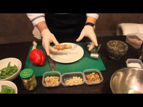 Рецепт салата от шеф-повара арт-кафе Казачок
