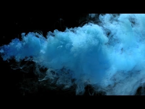 Free Slow Motion Footage: Angry Blue Smoke