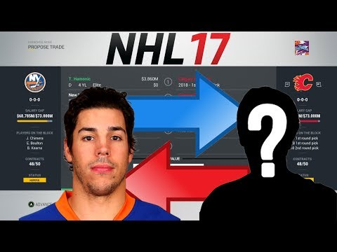 NHL 17 - HAMONIC TO CALGARY TRADE SIMULATION