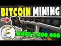 How to mine $1,000,000 of Bitcoin using just a laptop ...