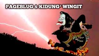 KIDUNG-KIDUNG WINGIT BERGUNA SAAT TERJADI PAGEBLUK ; BERIKUT CARA APLIKASI-NYA ~ Ki Sabdalangit