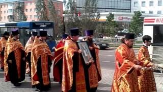 крестный ход от Никольского в день памяти Кирилла и Мефодия   Барнаул 2017