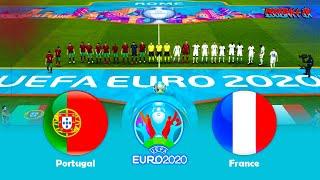 PES 2021 Portugal vs France UEFA EURO 2020 Gameplay Match PC