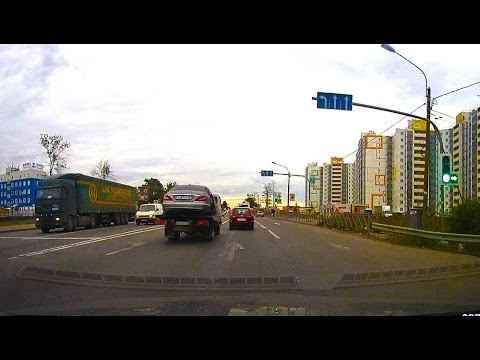 Driving Highway between Saint Petersburg and Moscow | Car trip video