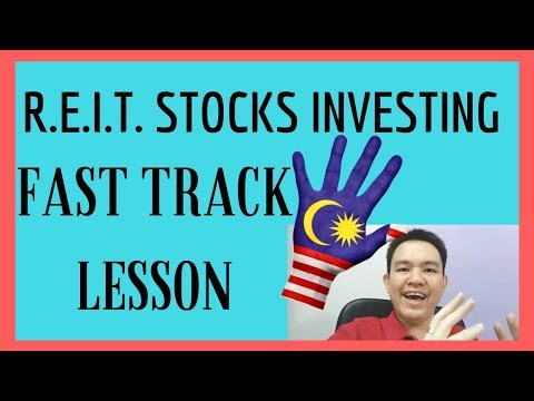 🏨 REIT Stocks in Malaysia -  🕝 Fast Track Lesson to Smart REIT Investing