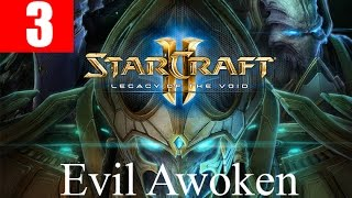 StarCraft 2 Legacy of the Void Walkthrough Part 3 Prologue Whispers of Oblivion HD Ultra Gameplay