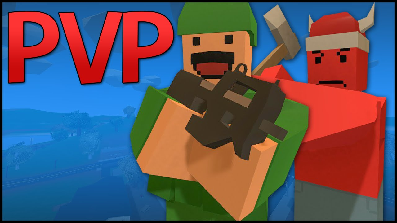 Unturned 3 0 PvP Server Gameplay - PEACEMAKER & HEARTBREAKER