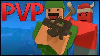 Unturned 3.0 PvP Server Gameplay - PEACEMAKER & HEARTBREAKER! (Multiplayer PvP Montage)