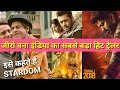 Top 5 most liked Indian Trailers/Teasers ! Shahrukh Khan ZERO TOP