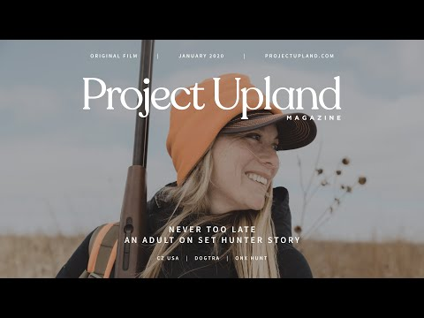 An Adult Onset Hunter Story - Quail Hunting Nebraska - Never Too Late