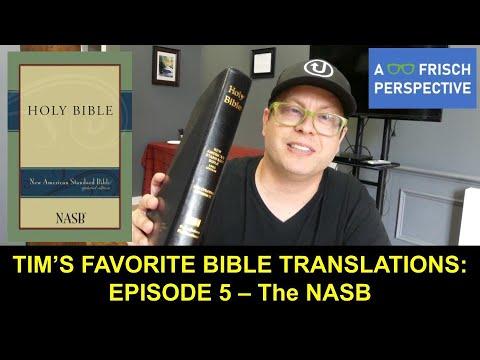 The NASB Bible Translation