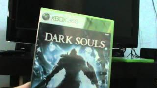 Unboxing Dark Souls   XBOX 360