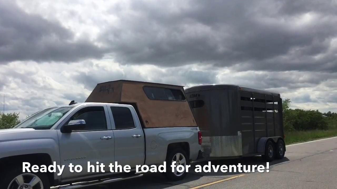 DIY Wood Truck Cap Camper