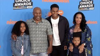 Mike Tyson 2018 Kids' Choice Awards Orange Carpet
