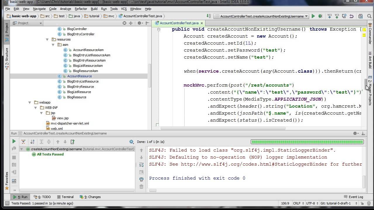 Web development using spring and angularjs tutorial 5 youtube web development using spring and angularjs tutorial 5 baditri Images