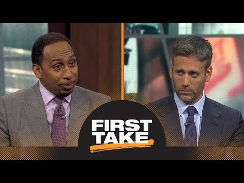 Stephen A. Smith and Max Kellerman debate Carmelo Anthony's worth to the Rockets | First Take | ESPN