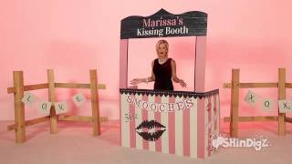 Custom Personalized Kissing Booth - Shindigz Party Supplies