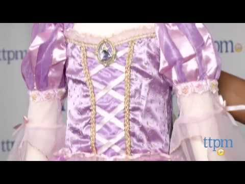 Tangled Rapunzel Costume from The Disney Store & Tangled Rapunzel Costume from The Disney Store - YouTube