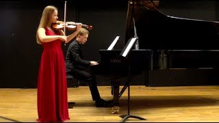 Debussy Sonata for Violin and Piano I Mvt