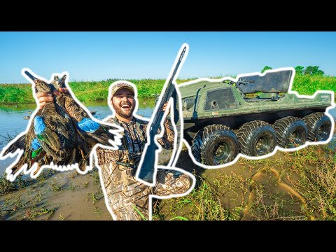 Duck Hunting My NEW FARM POND on OPENING DAY!!! (Limited Out) – Catch Clean Cook