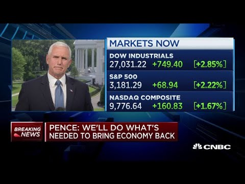 VP Mike Pence on addressing inequality, coronavirus relief for states