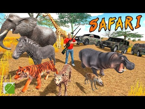 Safari Hunting Free Shooting Game - Android Gameplay FHD