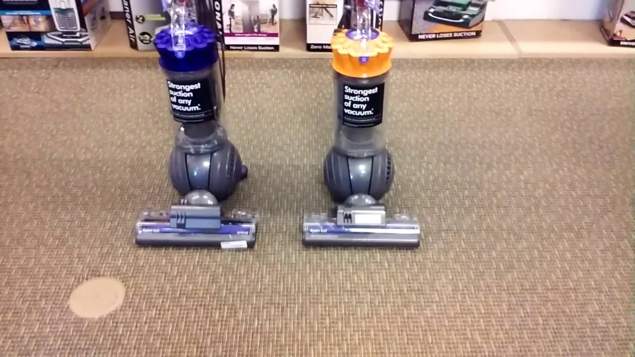 comparing the dyson ball animal to the dyson ball multi floor