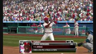 MLB 2k9 Gameplay PC Demo