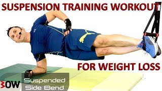Full Body Suspension Training Workout For Weight Loss | Weight Management