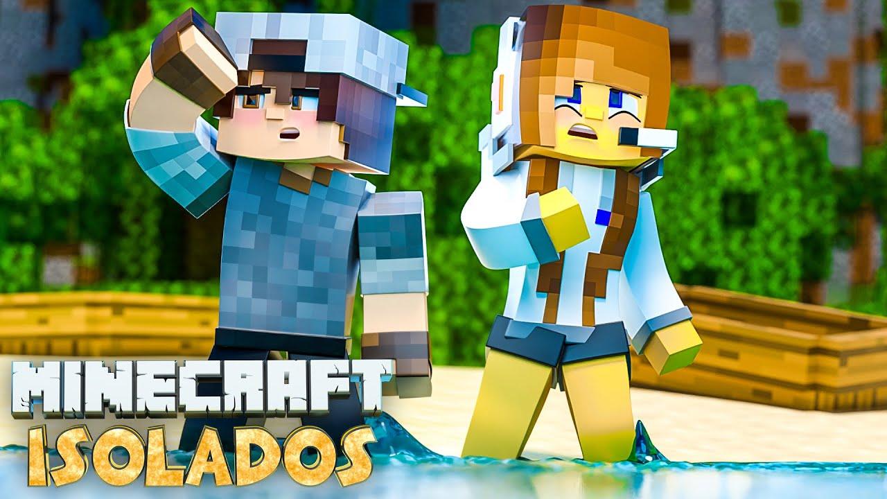 Minecraft ISOLADOS - EP 8  NOVA SÉRIE!