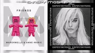 Marshmello, Anne-Marie & Bebe Rexha - Friends / I'm A Mess (Mashup)