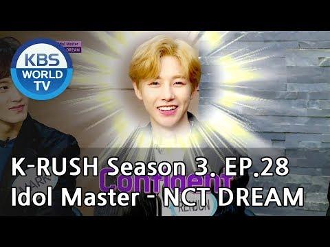 Idol Master - NCT DREAM [KBS World Idol Show K-RUSH3 / ENG,CHN / 2018.09.21]